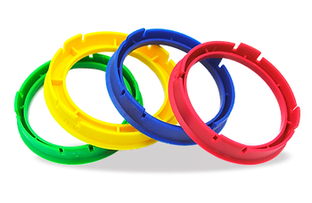 TPi Spigot rings also known as hub rings