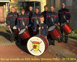 Revue SDIS Malley 2016