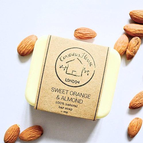 Sweet Orange & Almond Bar Soap