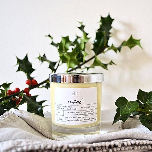 Natural Candle: Noël
