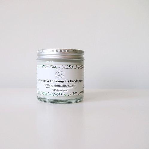 Bergamot & Lemongrass Hand Cream