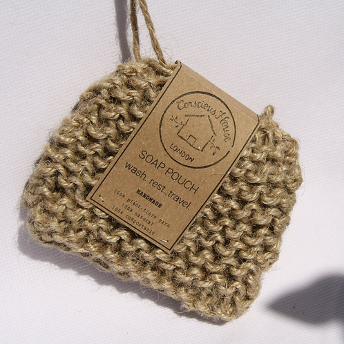 Soap Pouch (Natural)