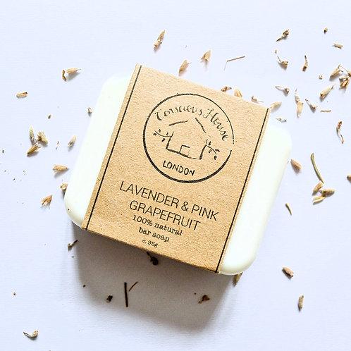 Lavender & Pink Grapefruit Bar Soap