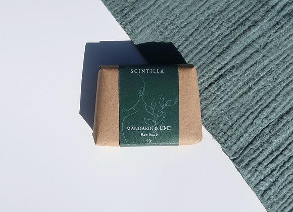 Mandarin & Lime Bar Soap