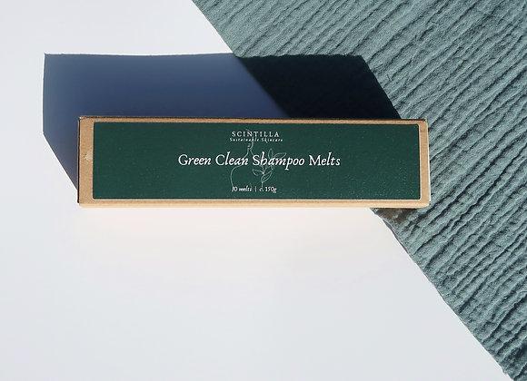 Green Clean Shampoo Melts