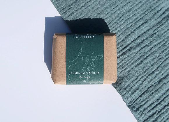 Jasmine & Vanilla Bar Soap (Organic)