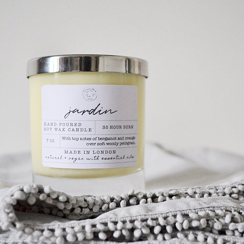 Natural Candle: Jardin
