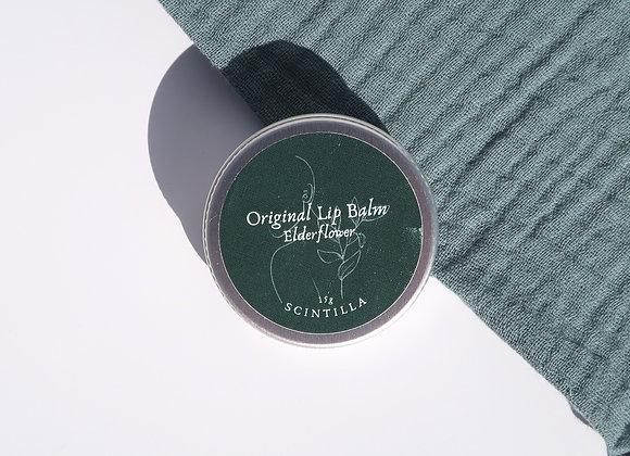 Elderflower Lip Balm