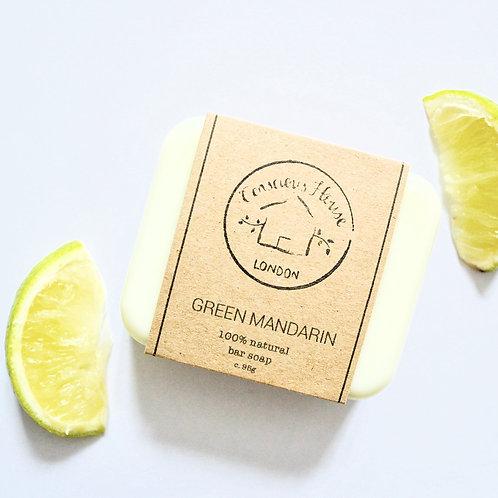 Green Mandarin Bar Soap