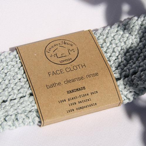 Super Soft Facecloth (Blue)