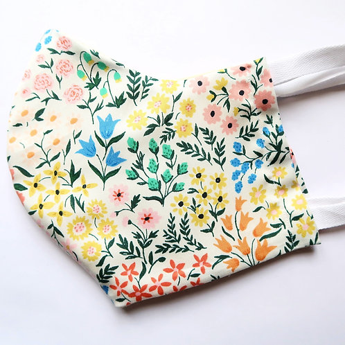 Cloth Face Mask - Meadow Flowers