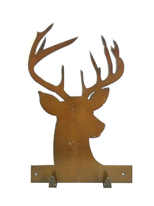Metal Deer Key Holder