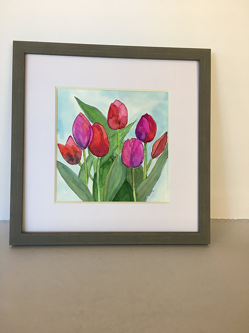 Tulip Water Color
