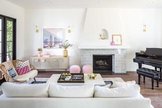 Spanish modern living room
