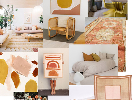 Color Story: Terra Cotta/Mustard/Blush