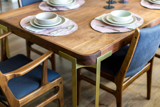 Custom Dining Table details