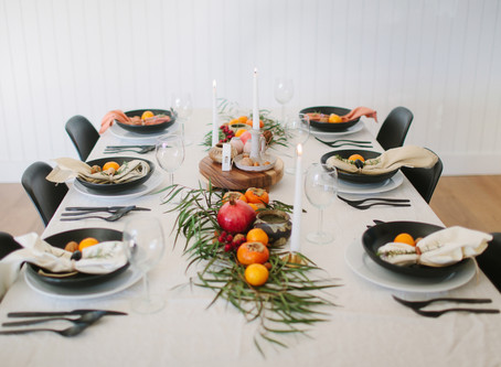 Foraged Holiday Table for 2017