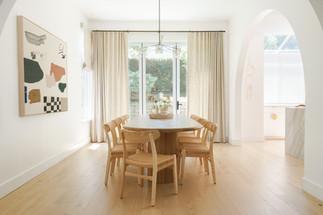 Ladera Heights dining room