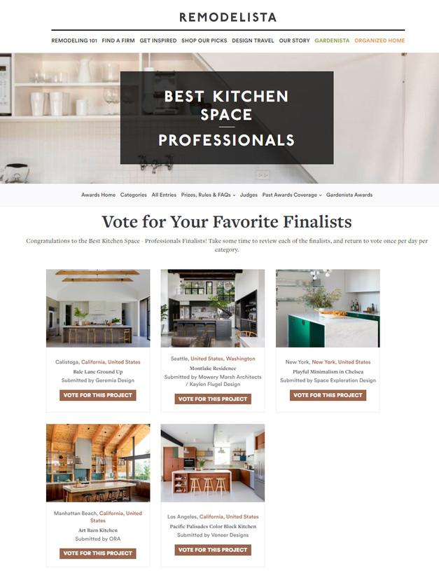 Remodelista Considered Design Awards