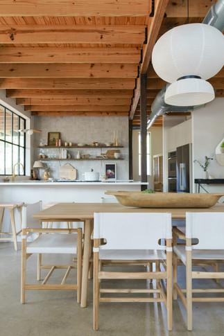 Austin view to kitchen