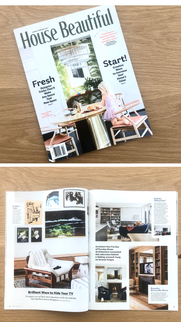 House Beautiful Jan/Feb 2019