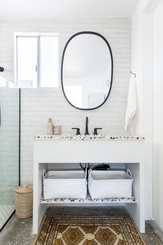 Veneer Retreat bathroom vanity