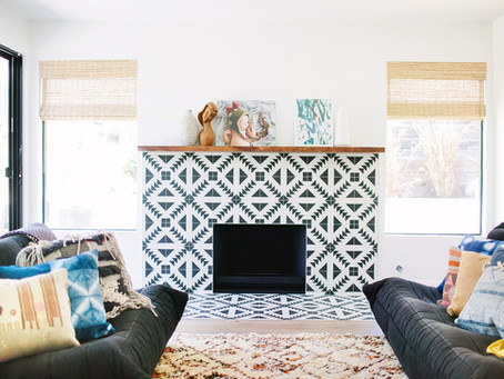 A Stunning Fireplace Surround in Mar Vista - A How To
