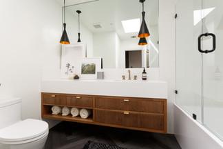 Guest bathroom remodel