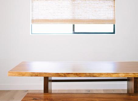 Custom Live Edge Table