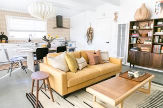 Veneer Retreat living room