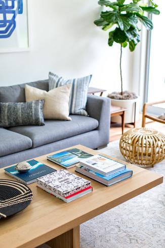 Modern family friendly living room