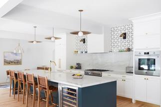 Modern Tudor kitchen