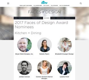 HGTV Faces of Design 2017