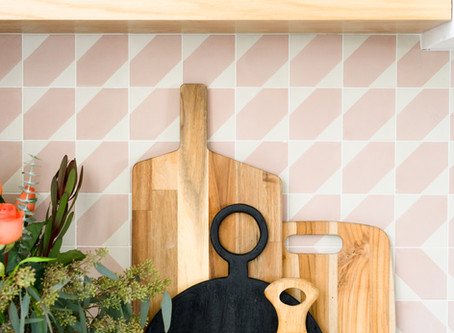 A New and Exciting Kitchen Backsplash