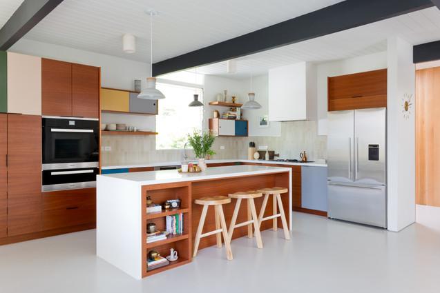 Micentury modern kitchen renovation