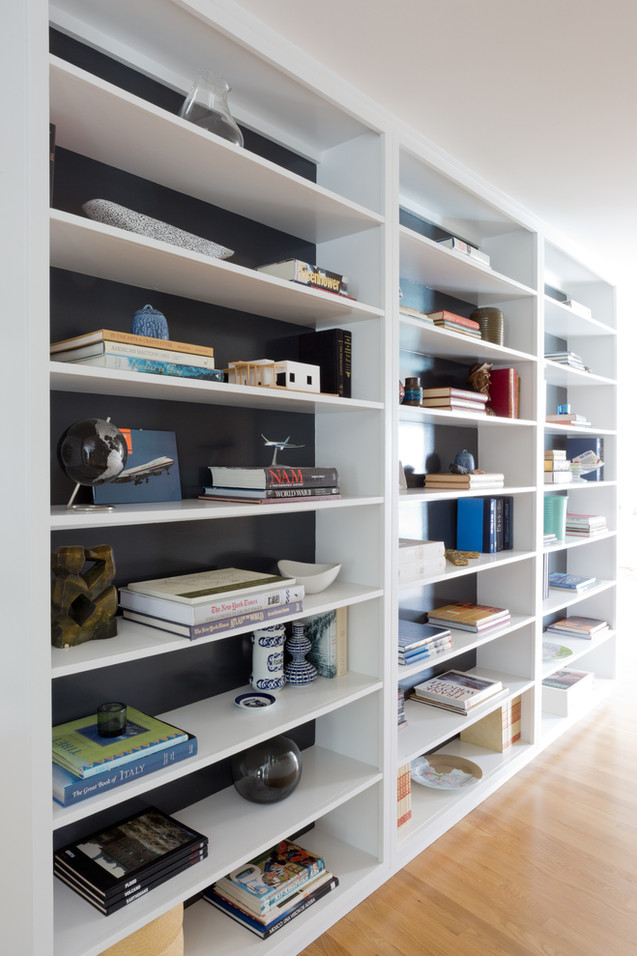 Hall shelves