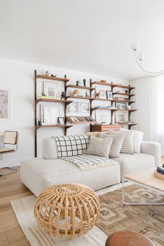 Bedford shelves