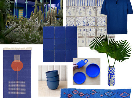Inspired by: Moroccan Blue