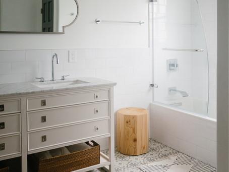 A Modern Classic Bathroom