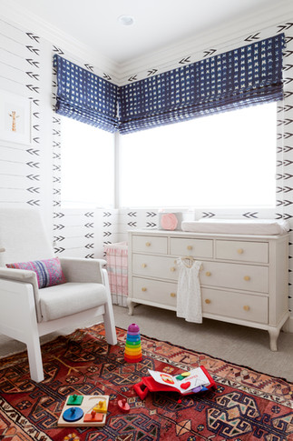 Baby Girl's Boho Nursery