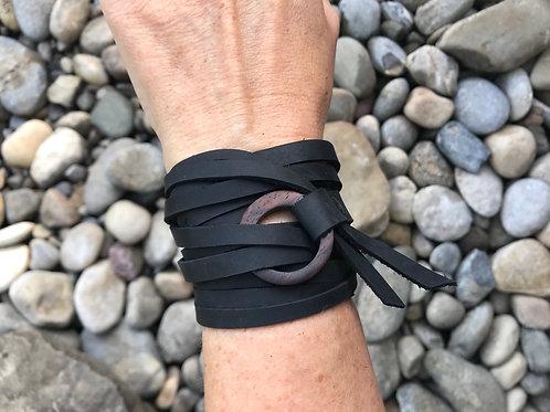Wrap Bracelet - Widening Circles