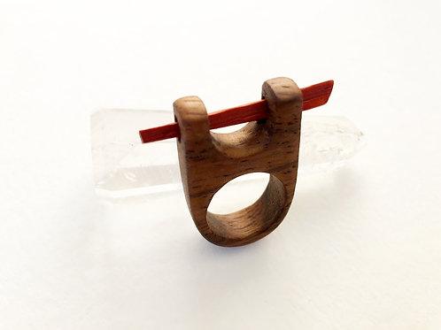 Parota & Padauk Wood Ring