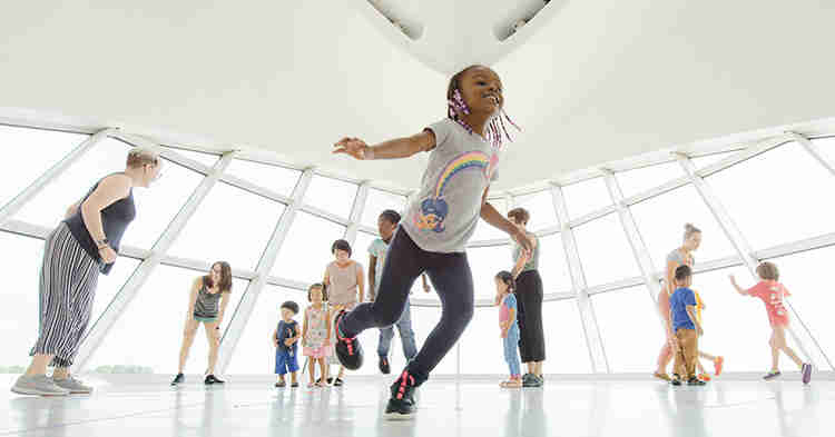 The Milwaukee Art Museum is always free for kids 12 and under.