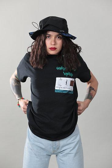 """Tshirt """"GENERAZIONE DI VANDALI"""" Black"""