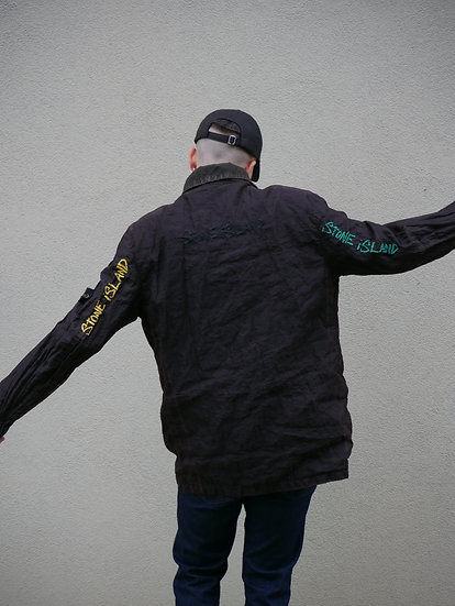 """""""STONE ISLAND ALMOST FAMOUS JACKET"""" GEMINI RECYCLE PROJECT"""