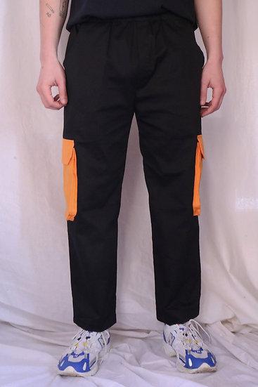 Black Extra Cargo Pant