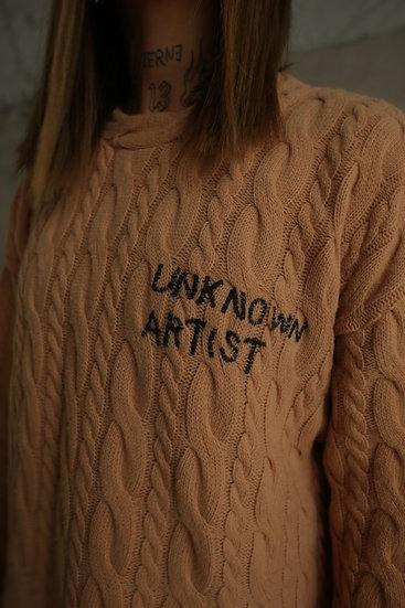 """SWEATER WOOL/CASHMERE """"UNKNOWN ARTIST"""""""