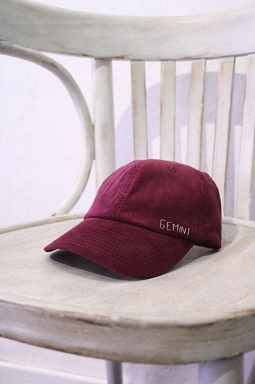 VELVET HAT RED