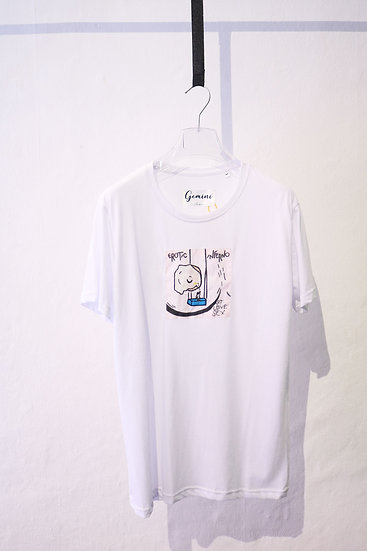 "TSHIRT ""EROTIC INFERNO"" WHITE"