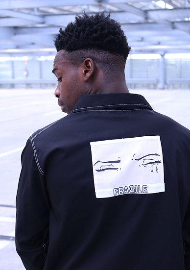 SHIRT FRAGILE BLACK